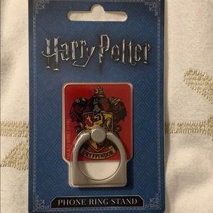 NEW Harry Potter phone ring stand Gryffindor